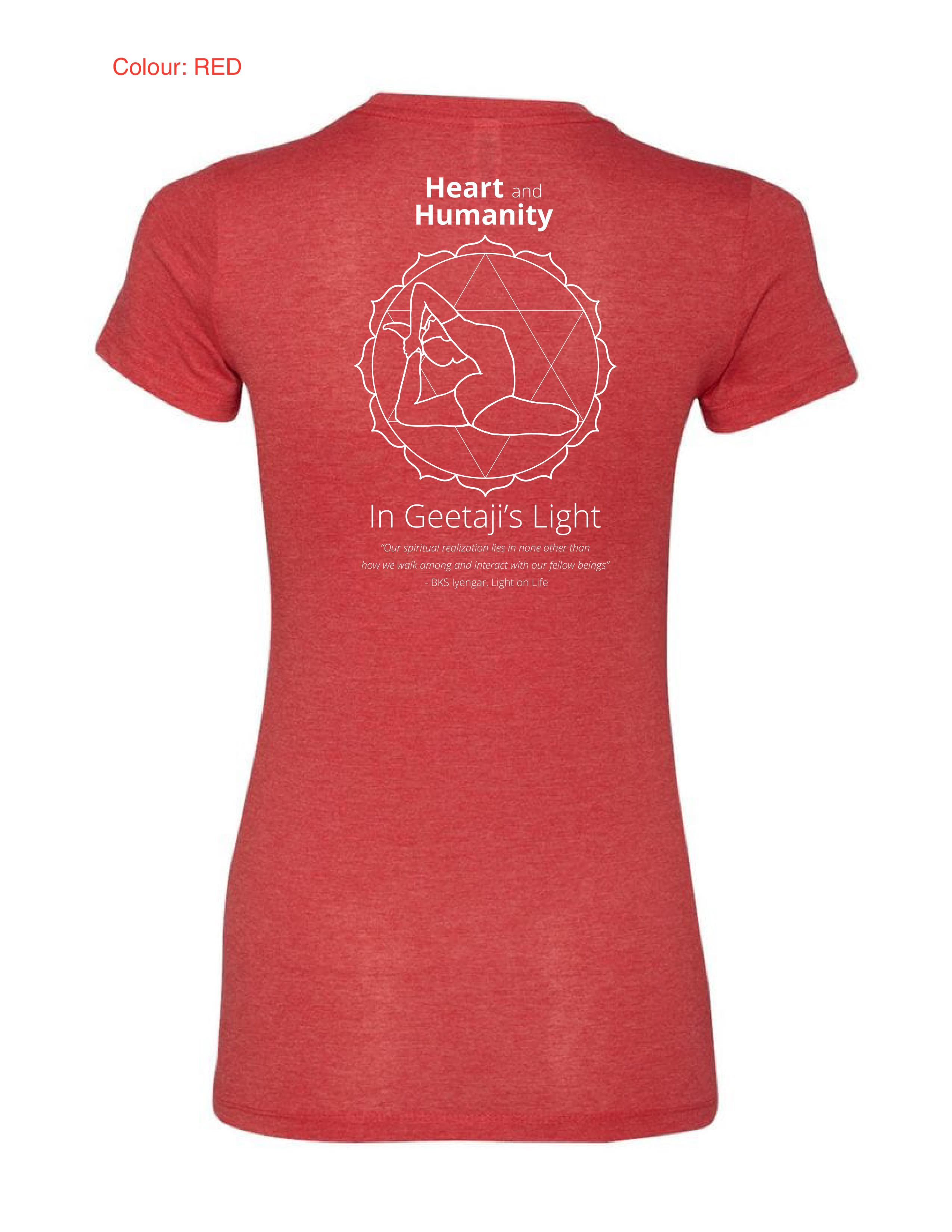 2019 IYAC Conference T-Shirt-Red