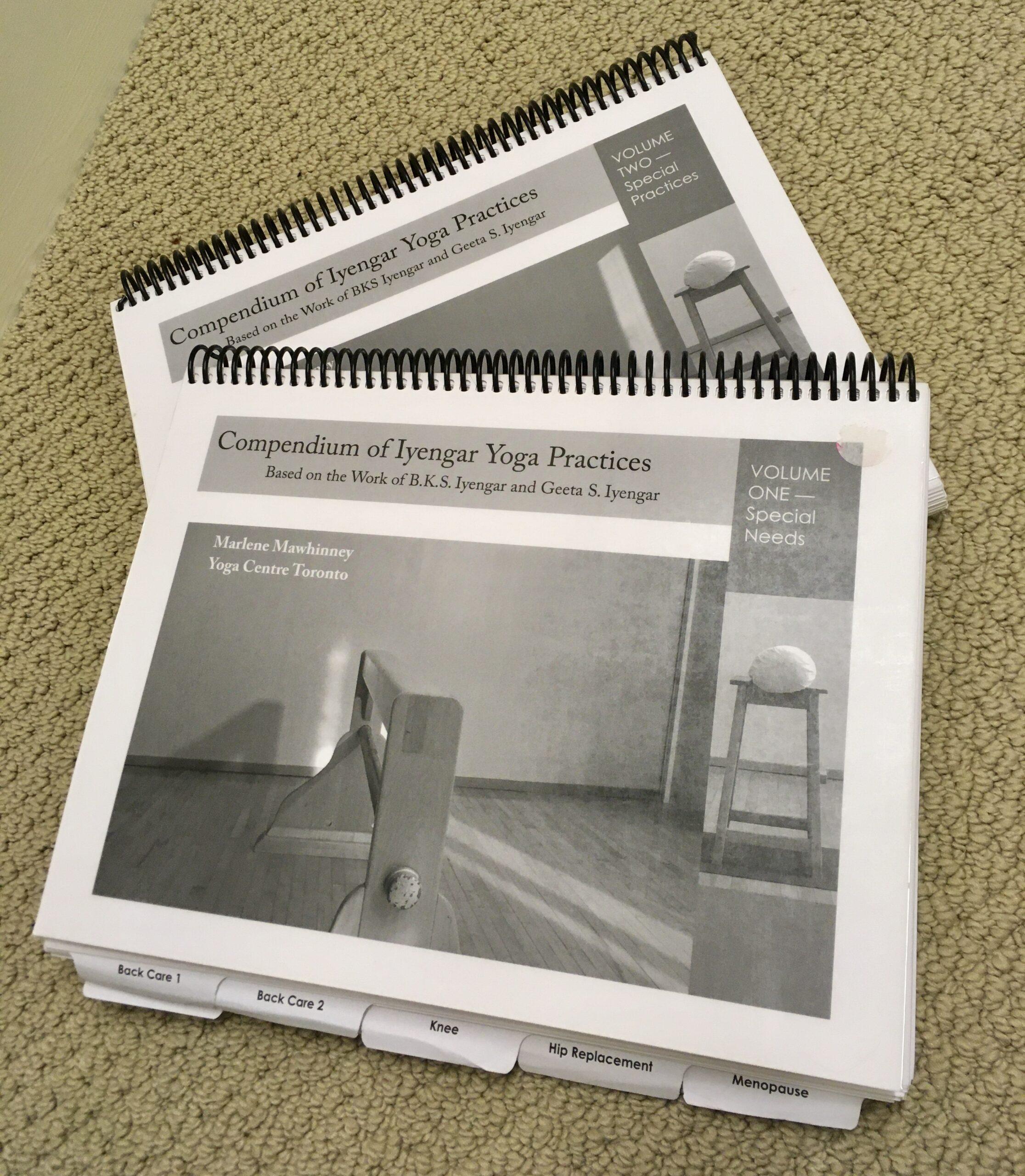 Compendium Of Iyengar Yoga Practices-2 Volume Set