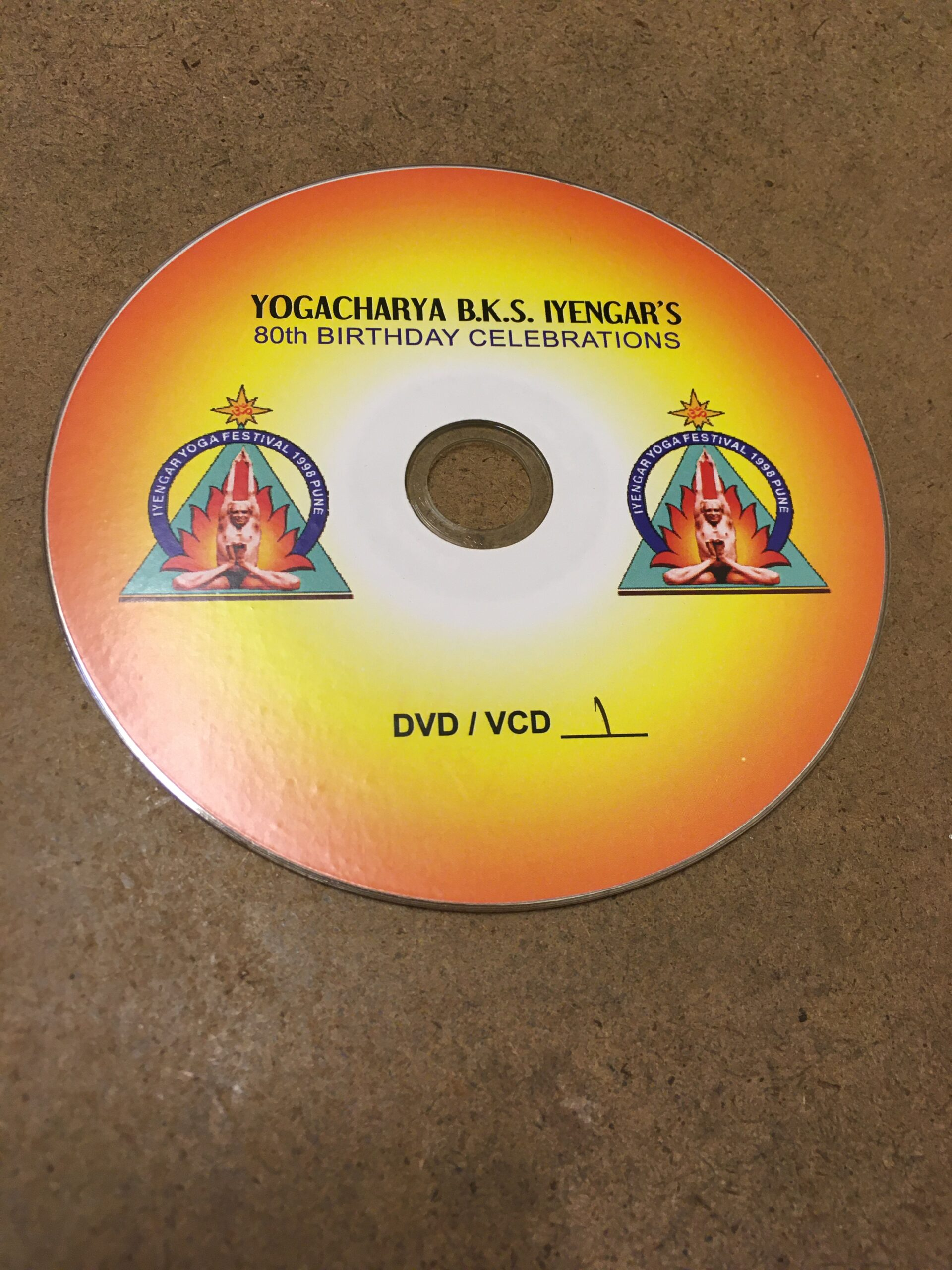 B.K.S. Iyengar's 80th Birthday Celebrations-VLC Format